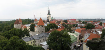 Tallinn view Stock Photos