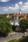 Tallinn. View of Tallinn from an observation deck Stock Photography