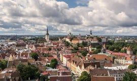 Tallinn widok fotografia royalty free