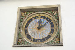 Tallinn zegar obrazy stock