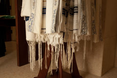 Tallit rack 2 Royalty Free Stock Photos