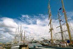 Tallships Image libre de droits