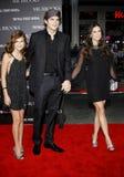 Tallulah Belle Willis, Ashton Kutcher and Demi Moore Stock Photography