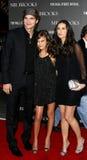Tallulah Belle Willis, Ashton Kutcher and Demi Moore royalty free stock images
