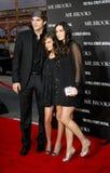 Tallulah Belle Willis, Ashton Kutcher e Demi Moore fotografie stock