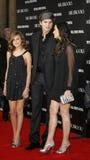 Tallulah Belle Willis, Ashton Kutcher e Demi Moore fotografia stock libera da diritti
