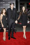 Tallulah Belle Willis, Ashton Kutcher e Demi Moore immagine stock