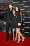 Tallulah Belle Willis, Ashton Kutcher en Demi Moore stock foto