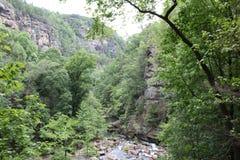 Tallulah Gorge stock fotografie