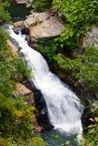 Tallulah Gorge Bridal Veil-waterval, Georgië royalty-vrije stock foto's