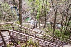 Tallulah Gorge, Geórgia Imagem de Stock Royalty Free