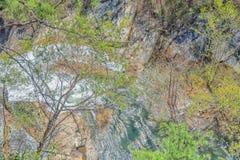 Tallulah Gorge State Park Foto de Stock