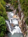 Tallulah Gorge State Park, Georgië royalty-vrije stock afbeelding
