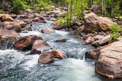 Tallulah Gorge whitewater stock afbeelding