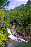 Tallulah River Gorge Waterfall Stock Photos