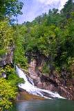 Tallulah River Gorge Waterfall Stock Photos