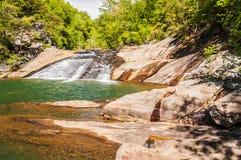 Tallulah rzeka Zdjęcia Stock