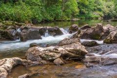 Tallulah rzeki Headwaters Obrazy Royalty Free
