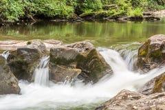 Tallulah rzeki Headwaters Zdjęcia Stock