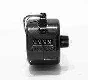 Tally Counter fotografie stock