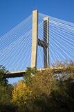 Talmadge Memorial Bridge Royalty Free Stock Photography