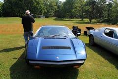 70-talMaserati supercar Royaltyfri Bild