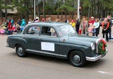 50-talmodell Rare Antique Mercedes Benz Royaltyfri Foto
