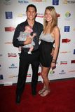 Talon Smith. Jaime Spahr  at the 2nd Annual Red CARpet Event, SLS Hotel, Beverly Hills, CA 09-08-12 Stock Photo