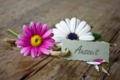 Talon z kwiatami obrazy stock