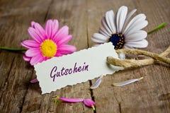 Talon z kwiatami zdjęcie royalty free