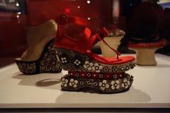 Talons de tueur : L'art de la chaussure à talons hauts 6 Image stock