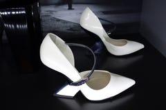 Talons de tueur : L'art de la chaussure à talons hauts 24 Images stock