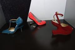 Talons de tueur : L'art de la chaussure à talons hauts 26 Photo stock