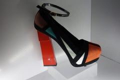 Talons de tueur : L'art de la chaussure à talons hauts 32 Photo libre de droits
