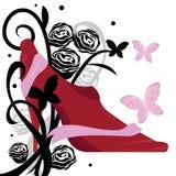 Talons et roses Photo libre de droits