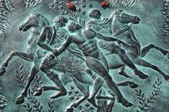 Talos & il ricordo dei Argonauts da Creta Fotografia Stock