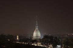 Talpa Antonelliana entro la notte Fotografia Stock Libera da Diritti