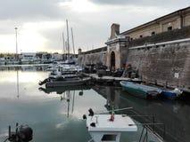Talpa Vanvitelliana o Lazzaretto a Ancona, Italia immagini stock libere da diritti