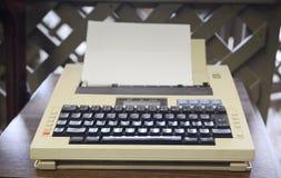 80-talskrivmaskin Fotografering för Bildbyråer