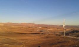 Taltal-Windpark Lizenzfreies Stockbild