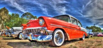 50-taltappningamerikan Chevy Royaltyfria Bilder