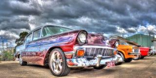 50-taltappningamerikan Chevy Arkivbild