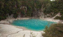 Talthermalsee Waimangu vulkanischer Lizenzfreie Stockbilder
