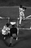 Talud del béisbol en el palo Fotografía de archivo