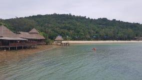 Taluisland在泰国 免版税图库摄影