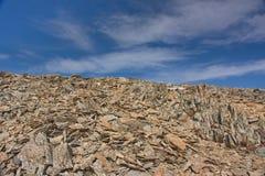 Talus ostrzy kamienie Zdjęcie Stock