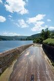 Talybont-Reservoir in der Sommerzeit in Wales Lizenzfreie Stockbilder