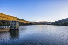 Talybont Reservoir In Wales Stock Images