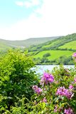 talybont-on-usk valley and reservoir Stock Photos