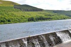 Talybont-on-usk water reservoir Stock Photos